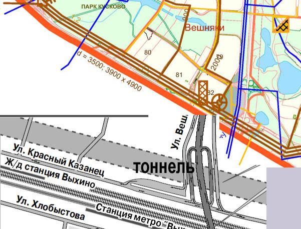 план трассы (здесь только